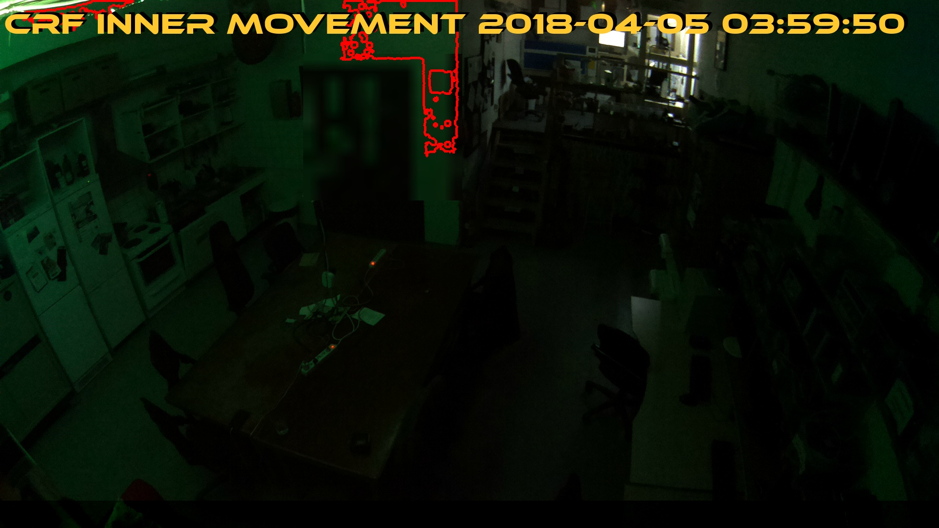 A picture of latest movement of webcam Inner